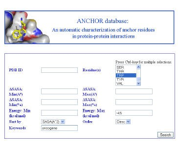 Anchor Database